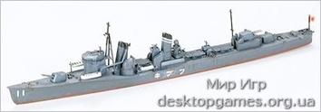 Японский эсминец Fubuki