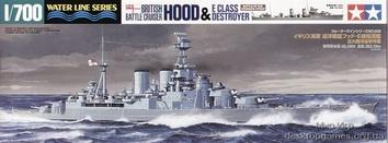 Британский крейсер  Hood или миноносец класс E (битва в Датском проливе)
