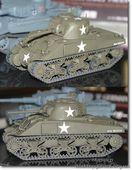 Американский танк M4 Sherman изначальная версия