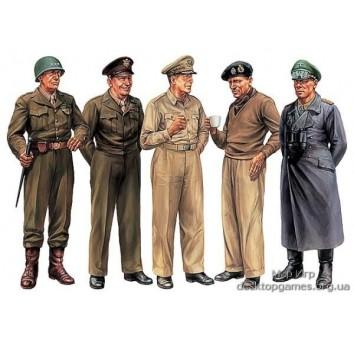 Набор знаменитых генералов Второй Мировой войны
