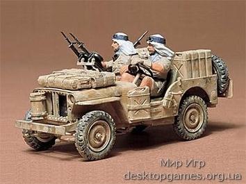 Британский внедорожник SAS