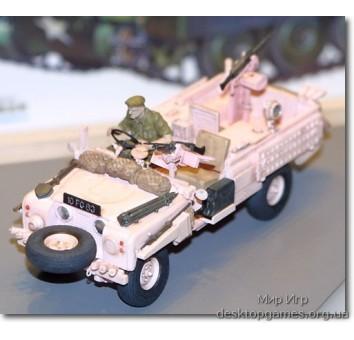 Британские  S. A. S. «Розовые Пантеры« на Land Rover