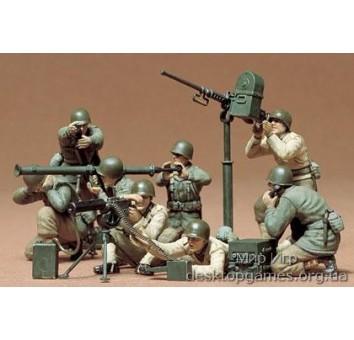 Американские пулемётчики и зенитчики