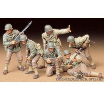 Американская пехота в атаке
