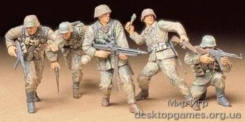 Немецкая пехота передовой