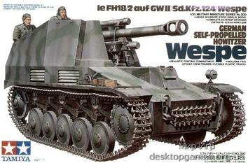 Немецкая САУ Веспе (Howitzer Wespe)