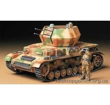 Немецкая САУ зенитка Flakpanzer IV Wirbelwind