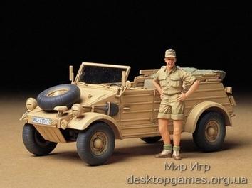 Немецкий авто Kuebelwagen Type 82 (Африканская версия)