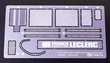 Фототравленные детали для танка Leclerc