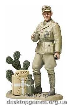 Немецкий танкист (корпус Роммеля)