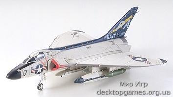 Американский палубный истребитель Douglas F4D-1 Skyray