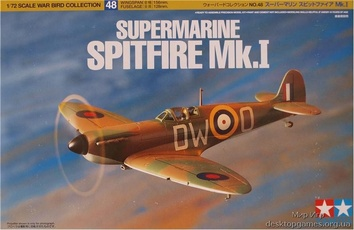 Британский Supermarine Spitfire Mk.I