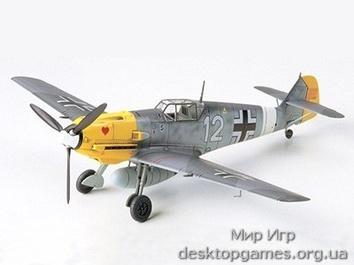 Немецкий Messerschmitt Bf109E-4/7 TROP