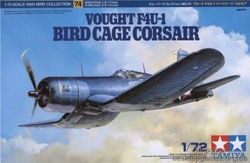 Американский самолет Чанс-Воут «Корсар» F4U-1U Bird Cage