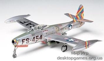 Американский  F-84G  Thunderjet
