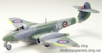 Британский Gloster Meteor F.3
