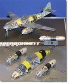 Немецкий Me262 A-1a (прозрачный фюзеляж)