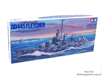 Американский эсминец Флетчер (Fletcher)