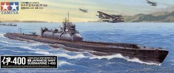 Японская подлодка-авианосец  I-400