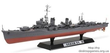 Японский эсминец Yukikaze с фототравленными деталями и мет. Цепями