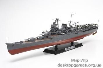 Японский крейсер Mogami с фототравленными и металическими деталями
