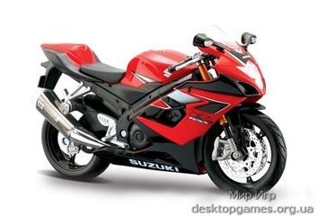 Модель мотоцикла 2006 Suzuki GSX-R1000