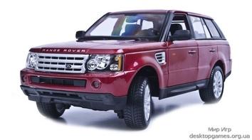 Автомодель Range Rover Sport (красный металлик)