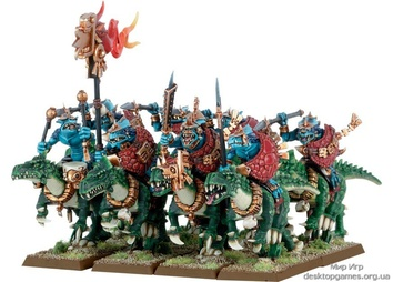 LIZARDMEN COLD ONE RIDERS