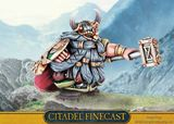 DWARF LORD WITH HAMMER and SHIELD