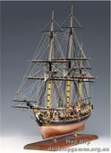 Деревянная модель корабля Пегас (Pegasus)