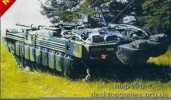 Шведский танк Strv 103 C MBT
