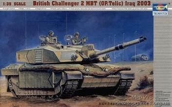 Английский танк «Челленджер 2МВТ« Ирак 2003г.