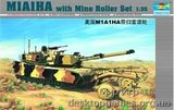 TR336 Американский танк M1A2 «Абрамс« с минным трал