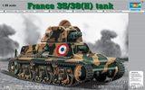 Французский танк 35/38(H) SA18 с 37mm стволом (Гочкис)
