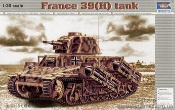 Французский танк 39(H) SA18 с  37mm стволом (Нем.трофейный)