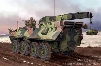 Ремонтный БТР Морской пехоты США LAV-R