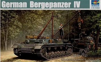 Немецкий ремонтный танк Bergepanzer IV