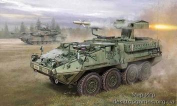 M1134 Stryker с противотанковой ATGM