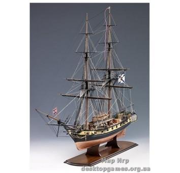 Модель деревянного корабля Меркурий (Mercury)