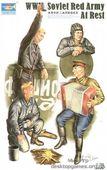 Советские танкисты на отдыхе