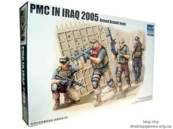 Пластиковые фигурки американских солдат в Ираке (спецназ)