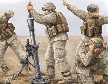 Американская пехота (минаметчики)