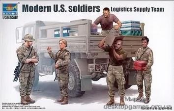 Фигурки современных американских солдат – комманда доставки
