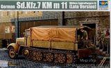 Немецкий полугусеничный тягач Sd.Kfz.7 поздний (бортовой)