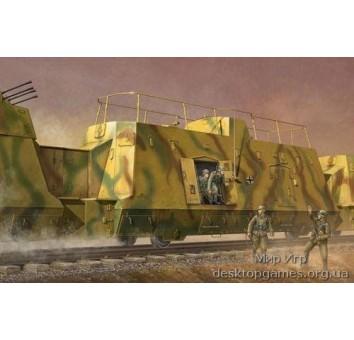 Немецкий бронированный штабной вагон