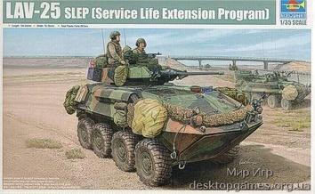 Американский БТР LAV-25 SLEP   (Service Life Extension Program)