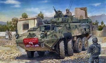 Американский БТР 8x8 LAV-III