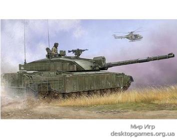 Английский танк Challenger 2 c дополнительной защитой