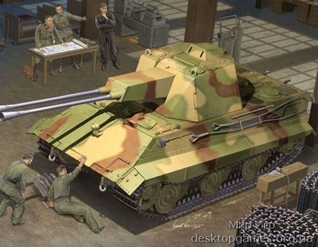 Немецкий танк Е-50 Flakpanzer