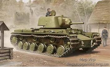 Советский танк KV-1M 1939г.